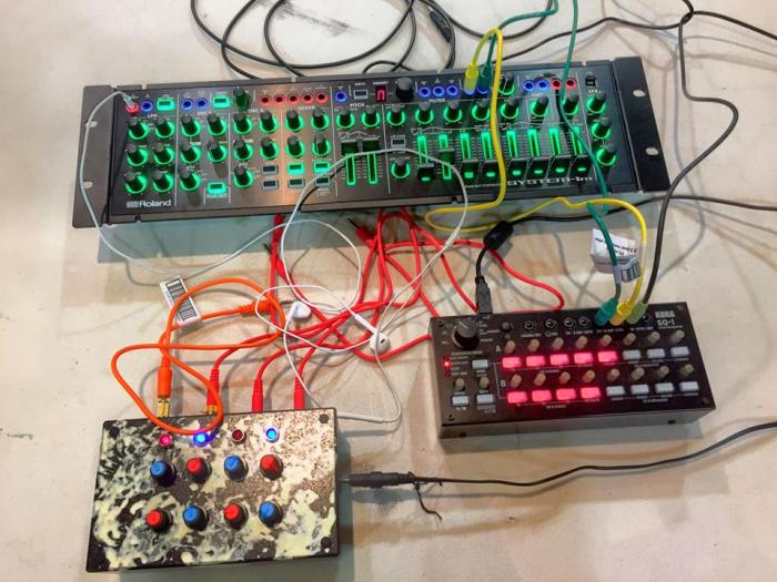 System-1m, Korg SQ-1, Analog Ordnance QuadLFO