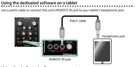 Remote-in patching