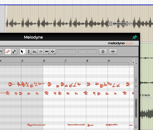 Melodyne in Tracktion 6