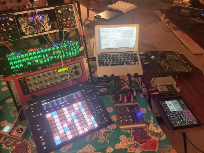 Oscilloscapes setup