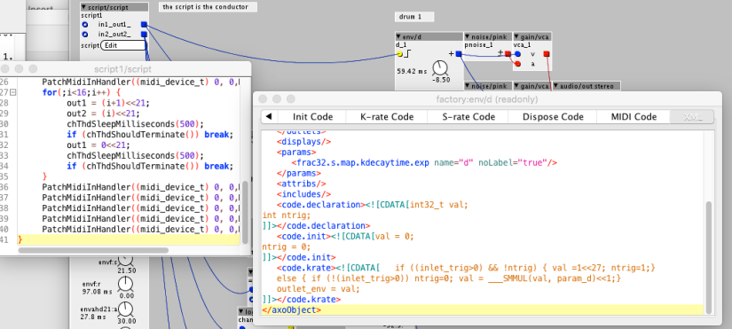 Module code